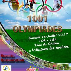 1001 Olympiades – samedi 01 Juillet 2017