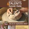 Sur les Chemins des Talents et Savoir-Faire samedi 16 et dimanche 17 septembre