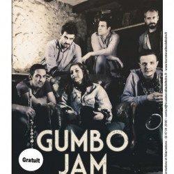 Concert du groupe GUMBO JAM le samedi 9 juin à 20h30