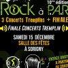 Finale du tremplin Rock à PAR le samedi 15 décembre à 20h30 à Sorigny
