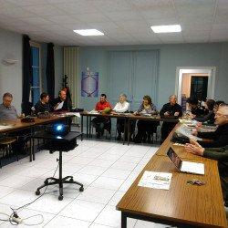 Commission Tourisme de la CCTVI à Villaines-les-Rochers