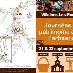 Journées du patrimoine et de l'artisanat les samedi 21 et dimanche 22 septembre