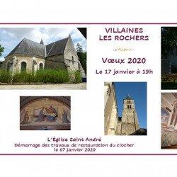 Voeux de Villaines-les-Rochers le vendredi 17 janvier à 19h