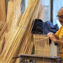 Reportage sur le métier de la vannerie à Villaines-les-Rochers sur TF1
