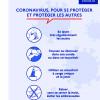 Mesures liées à la pandémie au pôle scolaire de Villaines-les-Rochers- 23 mars