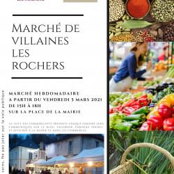 Marché de produits locaux du vendredi 2 avril